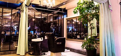 VIPの個室スペース、ユメシャンプー台